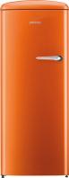 GORENJE ORB 152 O-L Rusztikus egyajtós hűtőszekrény fagyasztóval narancssárga