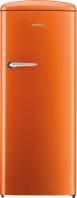 GORENJE ORB 152 O Rusztikus egyajtós hűtőszekrény fagyasztóval narancssárga