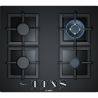 BOSCH PPH6A6B20 Beépíthető üveg-gázfőzőlap fekete üveg