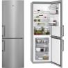 AEG RCB 53421 LX Alulfagyasztós kombinált hűtő inox ajtó/ezüst oldalfalak
