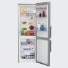BEKO RCNA 365 E32X Alulfagyasztós kombinált hűtő inox