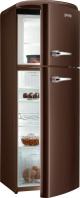 GORENJE RF 60309 OCH Rusztikus felülfagyasztós kombinált hűtő Étcsokoládé barna