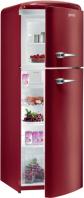 GORENJE RF 60309 OR Rusztikus felülfagyasztós kombinált hűtő burgundi vörös