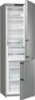 GORENJE RK 6192 KX Alulfagyasztós kombinált hűtő inox ajtó, ezüst oldalak