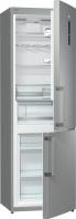 GORENJE RK 6193 LX Alulfagyasztós kombinált hűtő inox ajtó, ezüst oldalak