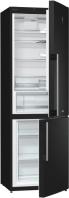 GORENJE RK 62 F SY2 B Alulfagyasztós kombinált hűtő fekete