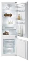 GORENJE RKI 4181 KW Beépíthető kombinált hűtő