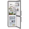 AEG S53620CSX2 Alulfagyasztós kombinált hűtő inox ajtó/ezüst oldalfalak