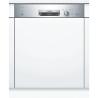 BOSCH SMI24AS00E Kezelőszervig beépíthető mosogatógép inox