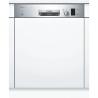 BOSCH SMI25AS00E Kezelőszervig beépíthető mosogatógép inox