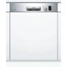 BOSCH SMI25AS02E Kezelőszervig beépíthető mosogatógép inox