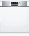 BOSCH SMI46AS04E Kezelőszervig beépíthető mosogatógép inox