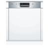 BOSCH SMI46KS00E Kezelőszervig beépíthető mosogatógép inox