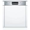 BOSCH SMI46KS01E Kezelőszervig beépíthető mosogatógép inox