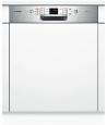 BOSCH SMI53L85EU Kezelőszervig beépíthető mosogatógép inox