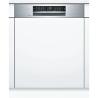 BOSCH SMI68IS00E Kezelőszervig beépíthető mosogatógép inox