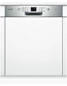 BOSCH SMI68N65EU Kezelőszervig beépíthető mosogatógép inox