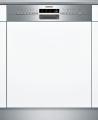 SIEMENS SN536S00KE Kezelőszervig beépíthető mosogatógép inox