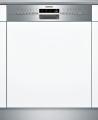 SIEMENS SN536S03ME Kezelőszervig beépíthető mosogatógép inox