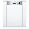 BOSCH SPI50E95EU Kezelőszervig beépíthető mosogatógép inox