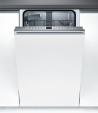 BOSCH SPV46IX07E Teljesen beépíthető mosogatógép