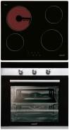 CATA T 604 - CM 760 AS Beépíthető sütő üvegkerámia főzőlap szett fekete/inox