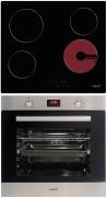 CATA TN 604 - LCMD 8008 X Beépíthető sütő üvegkerámia főzőlap szett fekete/inox