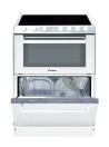 CANDY TRIO 9503/1 W Üvegkerámia lapos tűzhely és mosogatógép egyben fehér