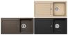 SCHOCK TYPOS D-100S Gránit mosogatótálca Inox-12, Croma-42, Onyx-10, Moonstone-08, Crema-14