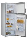 WHIRLPOOL WTE3113 TS Felülfagyasztós kombinált hűtő techno stell / acélszürke