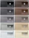 BLANCO ZENAR XL 6S Mosogat�t�lca antracit, palasz�rke, alumet�l, feh�r, j�zmin, pezsg�, sand, tartufo, k�v�