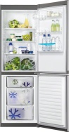 ZANUSSI ZRB 36101 XA Alulfagyasztós kombinált hűtő Ezüst - inox ajtó