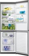 ZANUSSI ZRB 36104 XA Alulfagyasztós kombinált hűtő Ezüst - inox ajtó